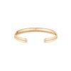 Bracelet coeur or rose pavage diamants - Joaillerie Canaglia Paris-Milan