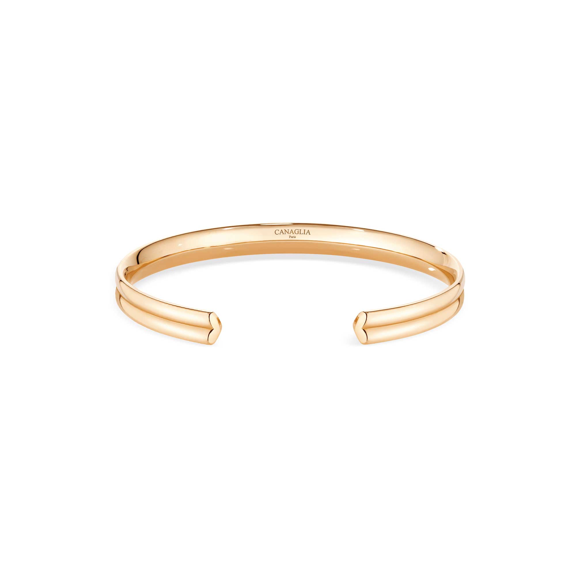 Bracelet coeur or rose - Joaillerie Canaglia Paris-Milan