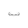 Bracciale rigido in oro bianco con pavé di diamanti -  Canaglia Paris-Milan Fine Jewelry