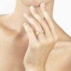 Anello grand coeur in oro rosa - gioielleria  Canaglia Paris-Milano