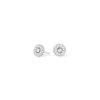 Boucles d'oreilles or gris et diamants ouces - Joaillerie Canaglia Paris-Milan