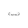 Bracelet jonc or gris & diamants - Joaillerie Canaglia Paris-Milan